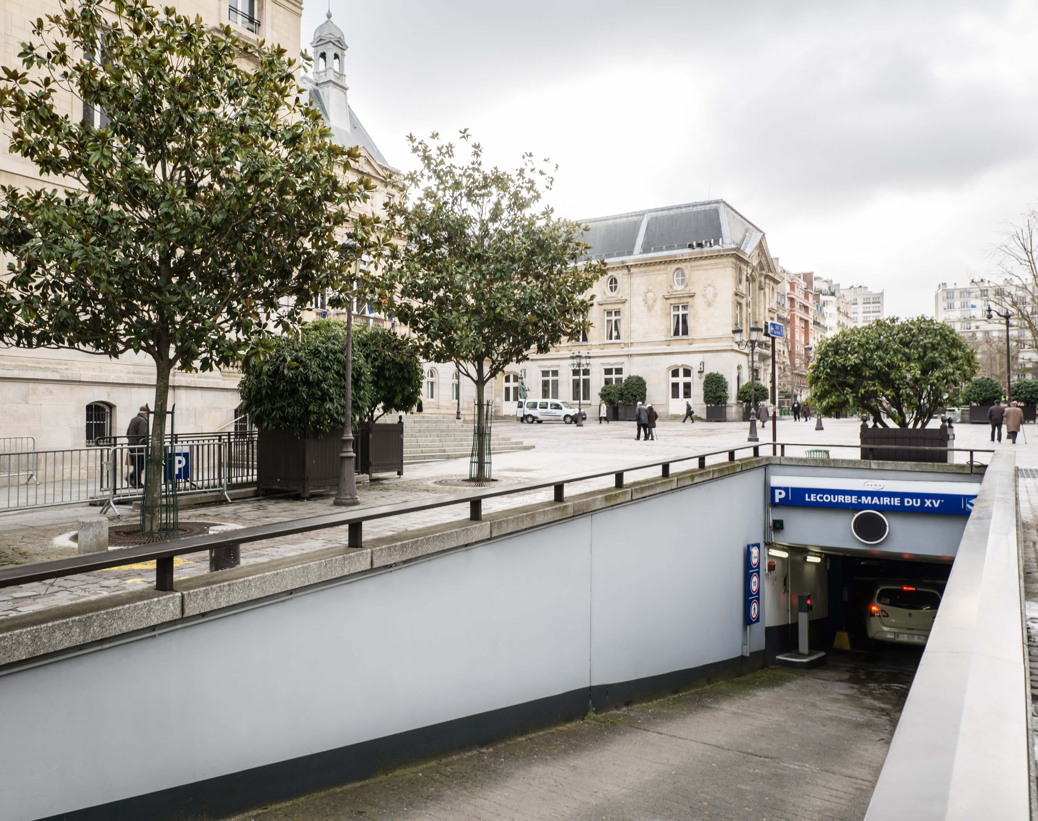 Parking Saemes Mairie du 15ème - Lecourbe - Parking - Paris