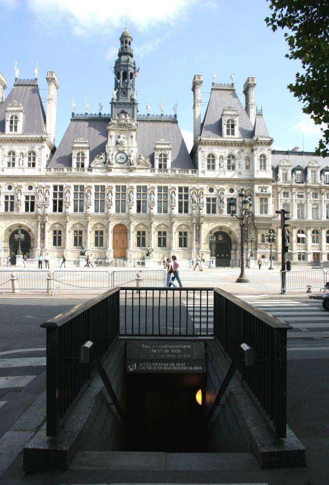Parking Hôtel de Ville - Parking - Paris