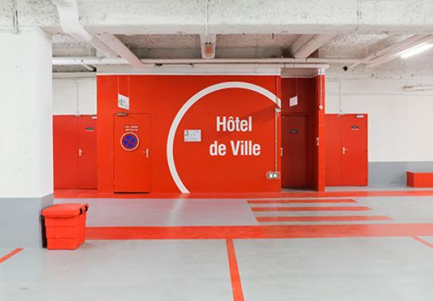 Parking Saemes Joinville le Pont Hôtel de Ville - Parking - Joinville-le-Pont
