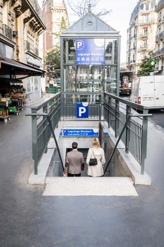 Parking Lagrange-Maubert - Parking - Paris