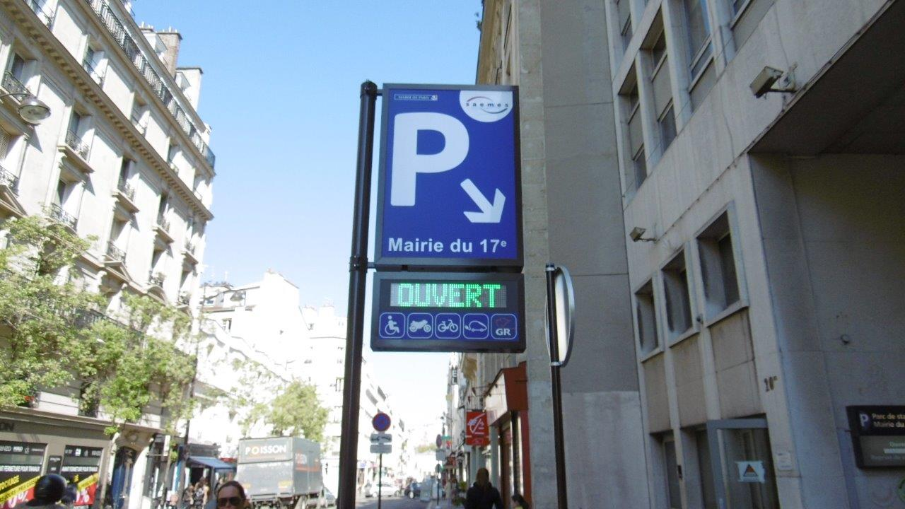 Parking Mairie du 17ème - Parking - Paris