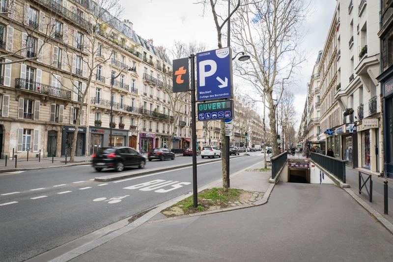 Parking Maubert Collège des Bernardins - Parking - Paris