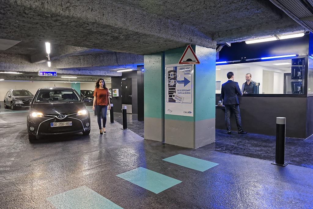 Parking Les Halles- Saint Eustache - Parking - Paris